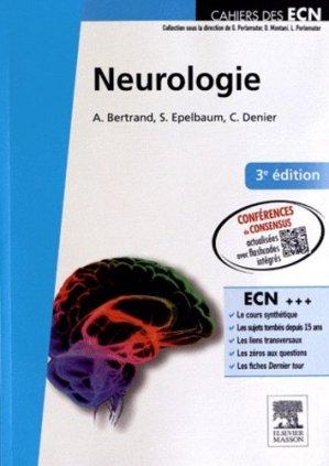 Neurologie - elsevier / masson - 9782294714917 -