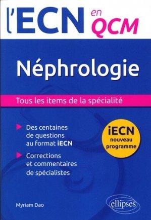 Néphrologie - ellipses - 9782340001695 -