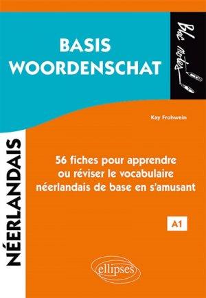 Néerlandais A1 Basis Woordenschat - ellipses - 9782340033436