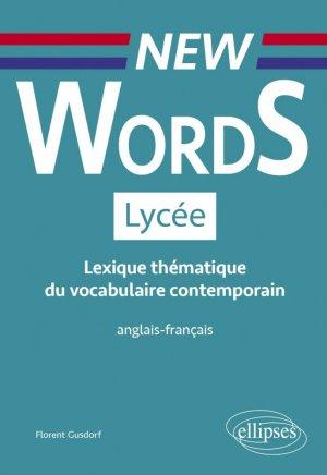 New Words Lycée - ellipses - 9782340036307 -