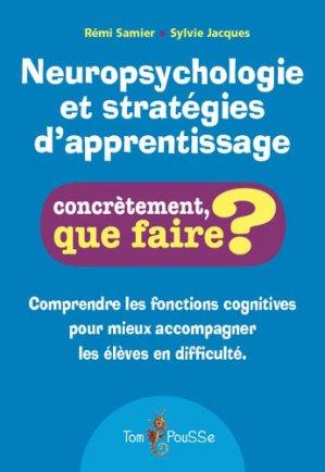 Neuropsychologie et stratégies d'apprentissage - tom pousse - 9782353452040 -