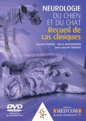 Neurologie du chien et du chat - med'com - 9782354030902 -