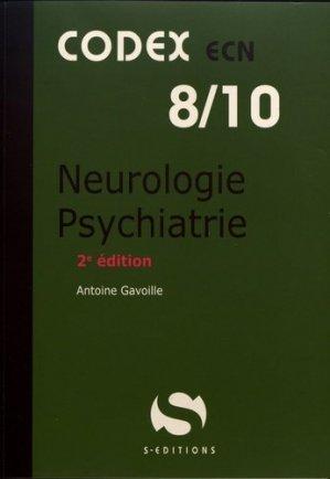 Neurologie, psychiatrie - s editions - 9782356402110