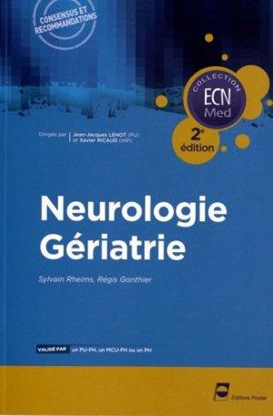 Neurologie - Gériatrie - pradel - 9782361100537 -