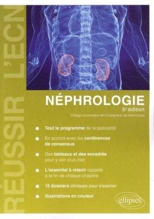 Néphrologie - ellipses - 9782729875312