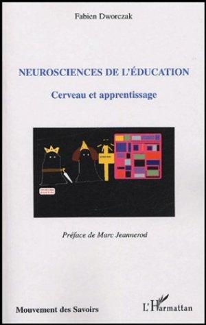 Neurosciences de l'éducation - l'harmattan - 9782747573429 -