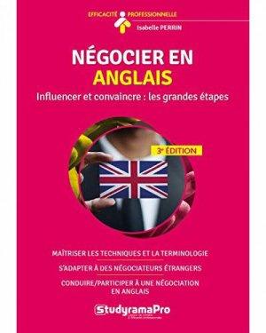 Négocier en anglais - Studyrama - 9782759040797 -