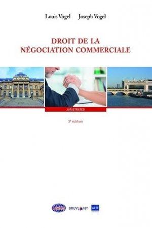 Négociation commerciale depuis loi EGALIM - bruylant - 9782802764700 -