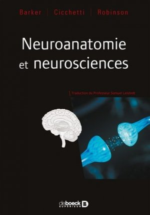 Neuroanatomie et neurosciences - de boeck - 9782807307001 -