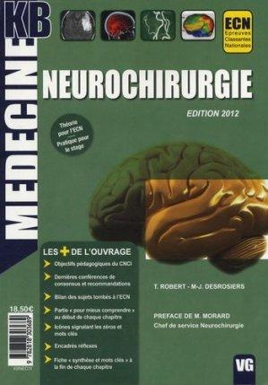 Neurochirurgie - vernazobres grego - 9782818303689 -