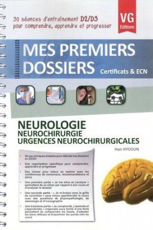 Neurologie - Neurochirurgie - Urgences Neurochirurgicales - vernazobres grego - 9782818307953 -
