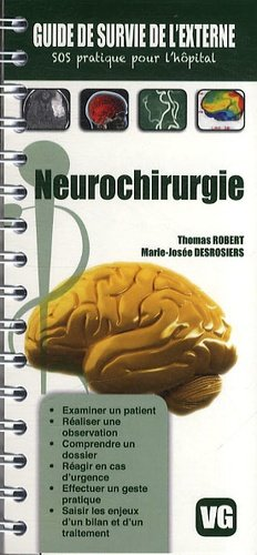 Neurochirurgie - vernazobres grego - 9782818308271 -