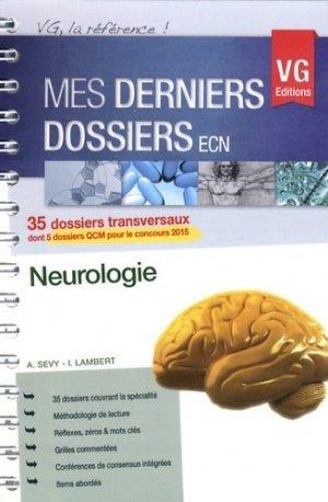 Neurologie - vernazobres grego - 9782818308394 -