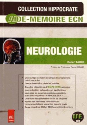 Neurologie - vernazobres grego - 9782818311783 -