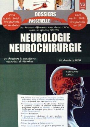 Neurologie Neurochirurgie - vernazobres grego - 9782818312339 -