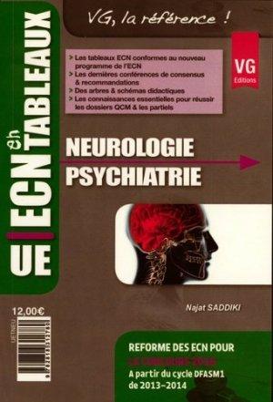 Neurologie Psychiatrie - vernazobres grego - 9782818312780 -