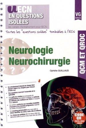 Neurologie Neurochirurgie - vernazobres grego - 9782818312896 -
