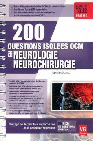 Neurologie neurochirurgie - vernazobres grego - 9782818313886 -