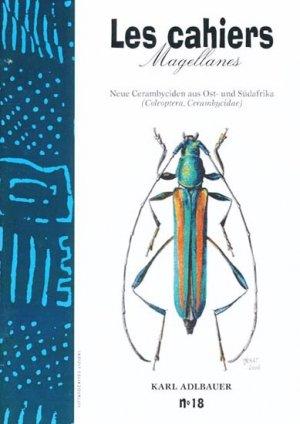 Neue Cerambyciden aus Ost- und Südafrika - magellanes - 9782911545276 -