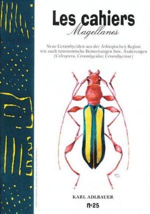 Neue Cerambyciden aus der Äthiopischen Region wie auch taxonomische Bemerkungen bzw. Änderungen - magellanes - 9782911545382 -
