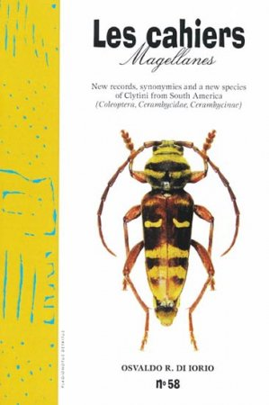 New Records, Synonymies and a New Species of Clytini from South America - magellanes - 9782911545870 -