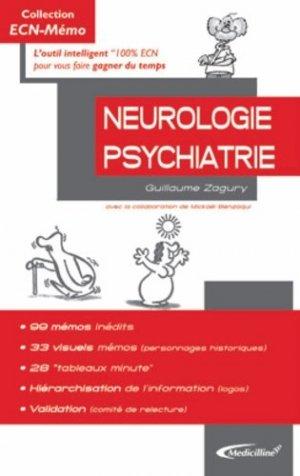 Neurologie Psychiatrie - medicilline - 9782915220476 -