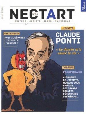 Nectart N° 11, été 2020 : Claude Ponti - Editions de l'Attribut - 9782916002712 -