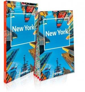New York. Guide et carte laminée - Express Map - 9788381902168 -