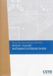NF DTU 41.2 Revêtements extérieurs en bois - cstb - 3260050850346 -