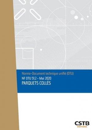 NF DTU 51.2 Parquets collés - cstb - 3260050850834 -
