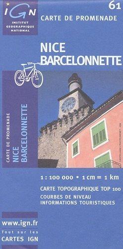 Nice - Barcelonnette - ign - 3282111006134 -