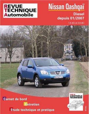 Nissan Qashqai - etai - editions techniques pour l'automobile et l'industrie - 9782726874158 -