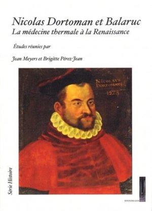 Nicolas Dortoman et Balaruc - guilhem - 9791093817040 -