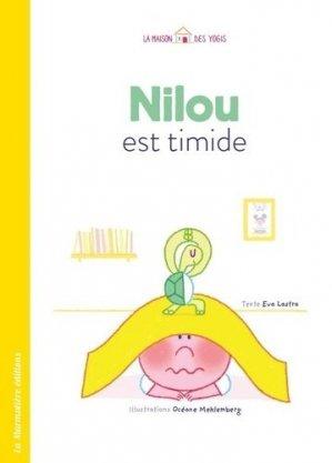 Nilou est timide - la marmotière editions - 9791097479145 -