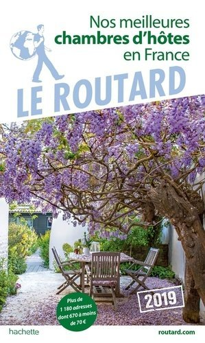 Nos meilleures chambres d'hôtes en France - hachette - 9782016267660 -