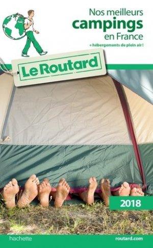 Nos meilleurs campings en France - Hachette - 9782017033646 -