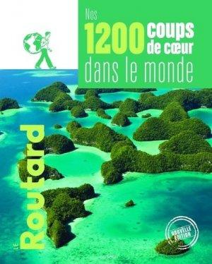 Nos 1200 coups de coeur dans le monde - Hachette - 9782017871019 -