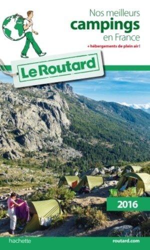 Nos meilleurs campings en France - Hachette - 9782019124526 -