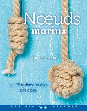 Noeuds marins - larousse - 9782035858054 -