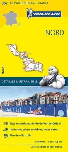 Nord. 1/150 000 - Michelin Editions des Voyages - 9782067202030 -