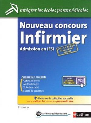 Nouveau concours Infirmier - nathan - 9782091620138 -