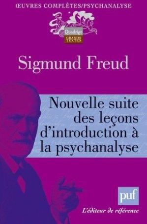 Nouvelle suite des leçons d'introduction à la psychanalyse - puf - 9782130579595 -