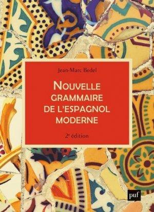 Nouvelle grammaire de l'espagnol moderne - PUF - 9782130820703 -