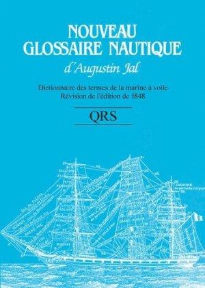 Nouveau glossaire nautique QRS - cnrs - 9782271089083 -