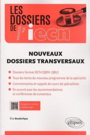 Nouveaux dossiers transversaux - ellipses - 9782340012080 -