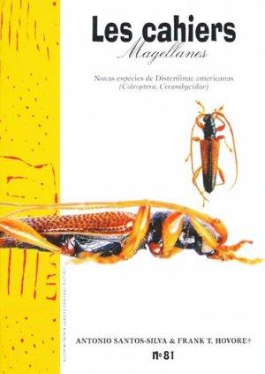 Novas espécies de Disteniinae americanas - magellanes - 9782353870301 -