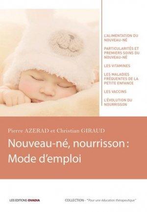 Nouveau-né, nourrisson - ovadia - 9782363920539 -