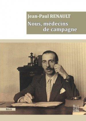 Nous, médecins de campagne - la bouinotte - 9782369750918 -