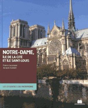 Notre-Dame, île de la Cité et île Saint-Louis - massin - 9782707208354 -