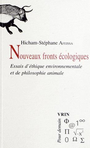 Nouveaux fronts écologiques - vrin - 9782711624355 -